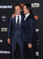 Andrew Lincoln, Norman Reedus - Universal City - 02-10-2014 - The Walking Dead 7, questa sera il gran finale: chi morirà?