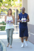 Paige Butcher, Eddie Murphy - Los Angeles - 05-10-2014 - Eddie Murphy in declino al cinema, ha un futuro come cameriere