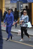 Ilenia Betti, Antonio Di Natale - Milano - 06-10-2014 - Antonio Di Natale in trasferta a Milano è un bomber di shopping