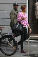 Georgette Eto'o, Samuel Eto'o - Milano - 06-10-2014 - Samuel Eto'o torna a Milano…ma solo per lo shopping