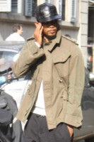 Samuel Eto'o - Milano - 06-10-2014 - Samuel Eto'o torna a Milano…ma solo per lo shopping