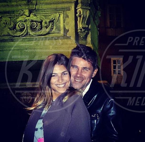 Fabio Fulco, Cristina Chiabotto - Milano - 07-10-2014 - Addio Fabio: Cristina Chiabotto bacia lui...