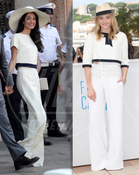 Amal Alamuddin, Chloe Grace Moretz - 07-10-2014 - Amal Alamuddin e Chloe Grace Moretz: chi lo indossa meglio?