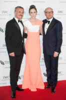 Georges Kern, Christoph Waltz, Emily Blunt - Londra - 07-10-2014 - C'è anche la nostra Filippa Lagerback tra le star dell'IWC Gala