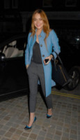 Lindsay Lohan - Londra - 07-10-2014 - Questo autunno copriamoci, ma sveliamo le caviglie