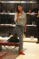 Belen Rodriguez - Milano - 08-10-2014 - Belen e Cecilia Rodriguez, due sorelle un solo amore: le scarpe