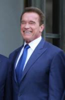 Arnold Schwarzenegger - Parigi - 10-10-2014 - Schwarzenegger e Hollande: la strana coppia