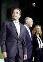Arnold Schwarzenegger - Parigi - 11-10-2014 - Schwarzenegger e Hollande: la strana coppia