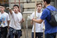 Angeli del Fango - Genova - 11-10-2014 - Genova: gli Angeli del Fango continuano a spalare