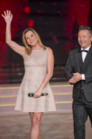 Paolo Belli, Simona Ventura - Roma - 11-10-2014 - Ballando con le stelle: imprevisto per Giusy Versace