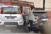 Leone Procacci, Kasia Smutniak - Roma - 10-10-2014 - Vacanze romane per Kasia Smutniak e il piccolo Leone