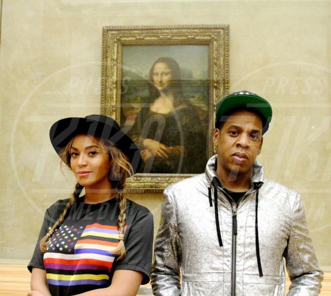 Jay-Z, Beyonce Knowles - Parigi - 13-10-2014 - Bebe Vio e Barack Obama: un'altra selfie-magia
