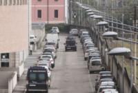 Processo Yara - Brescia - 14-10-2014 - Brescia: Massimo Giuseppe Bossetti in aula ma lontano dai media
