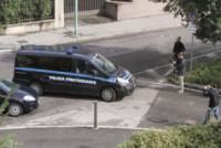 Processo Yara, Giuseppe Massimo Bossetti - Brescia - 14-10-2014 - Brescia: Massimo Giuseppe Bossetti in aula ma lontano dai media