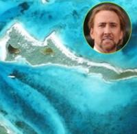 Leaf Cay, Nicolas Cage - Hollywood - 15-10-2014 - Vivere in un paradiso terrestre si può, se sei un vip milionario