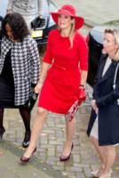 Máxima Zorreguieta Regina d'Olanda - Amsterdam - 14-10-2014 - Vuoi essere vincente? Vestiti di rosso