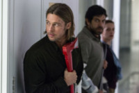 """World War Z, Brad Pitt - Los Angeles - 16-10-2014 - Brad Pitt: """"Il primo fucile quando ero alla scuola materna"""""""
