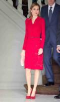 Letizia Ortiz - The Hague - 15-10-2014 - Vuoi essere vincente? Vestiti di rosso
