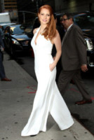 Jessica Chastain - New York - 16-10-2014 - In primavera ed estate, le celebrity vanno in bianco!