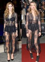 Cara Delevingne, Chiara Ferragni - 17-10-2014 - Elena Santarelli e le altre, sotto la gonna... body e culottes!