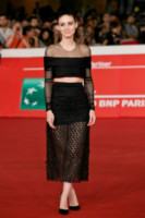 Rooney Mara - Roma - 17-10-2014 - Top Crop & company: pancini al vento sul red carpet