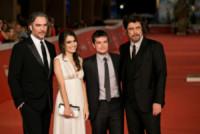 Claudia Traisac, Andrea Di Stefano, Josh Hutcherson - Roma - 18-10-2014 - Festival di Roma: Benicio Del Toro, faccio il bravo, promesso!