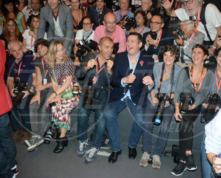 John Keeble, Spandau Ballet, Steve Norman, Tony Hadley, Gary Kemp, Martin Kemp - Roma - 20-10-2014 - Festival di Roma: gli Spandau Ballet 30 anni dopo