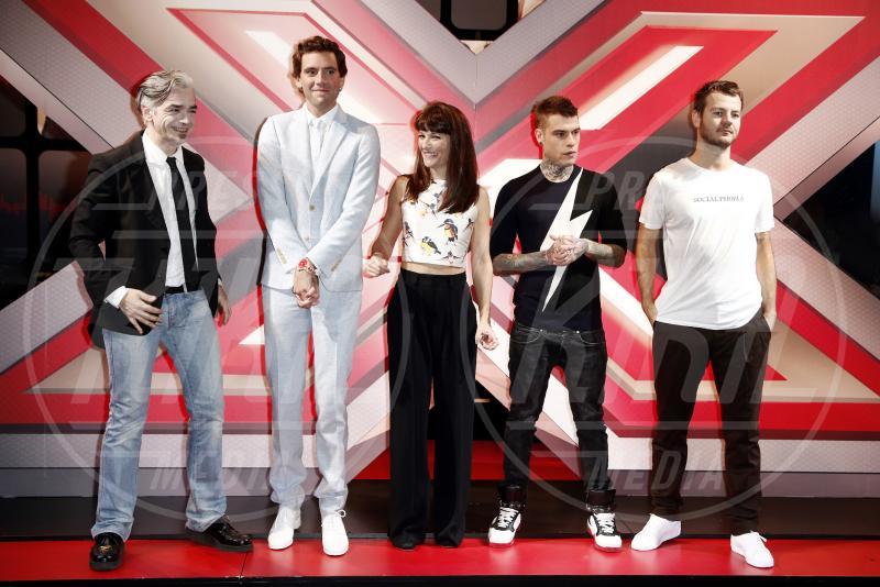 Fedez, Alessandro Cattelan, Mika, Victoria Cabello, Morgan - Milano - 21-10-2014 - X Factor 8, al via il live. Ecco i giudici…