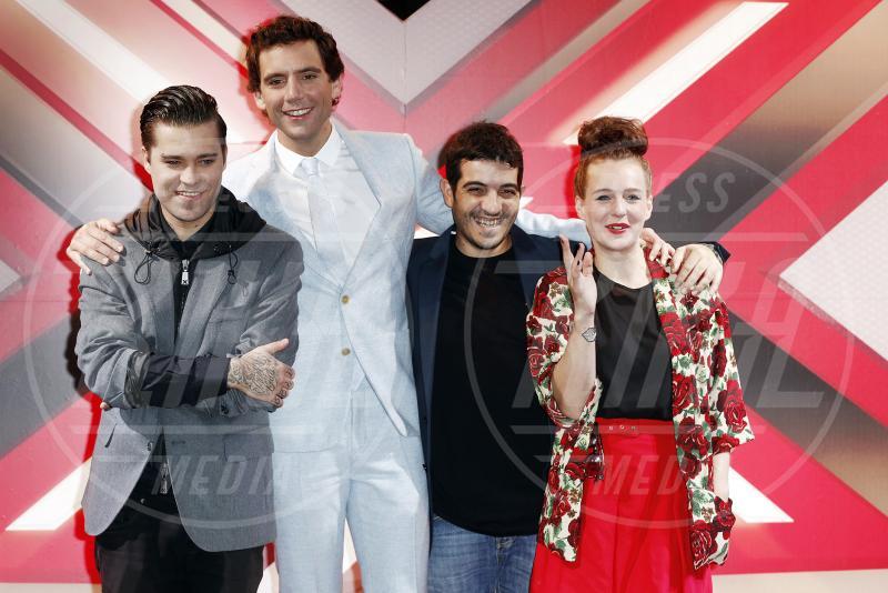 Marco Boserup, Marco Garruccio, Mika, Emma Marrone - Milano - 21-10-2014 - X Factor 8, al via il live. Ecco i giudici…