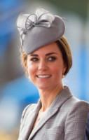 Londra - 21-10-2014 - Kate stoica al fianco del Principe William