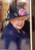 Regina Elisabetta II - Londra - 21-10-2014 - Kate stoica al fianco del Principe William