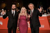 Monika Bacardi, Andrea Iervolino, Marco Risi - Roma - 20-10-2014 - Festival di Roma: Lodovini, provate a guardarmi negli occhi!