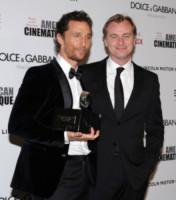 Christopher Nolan, Matthew McConaughey - Beverly Hills - 21-10-2014 - Quay, Christopher Nolan torna con un cortometraggio