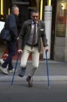 Lapo Elkann - Milano - 22-10-2014 - Star come noi: anche le celebrità si feriscono