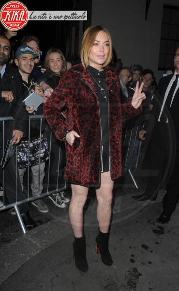 Lindsay Lohan - Londra - 23-10-2014 - Il leopardo non si ammaestra, si indossa