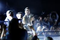 Mika - Milano - 23-10-2014 - Mika rimpiazza la Ventura con le farfalle