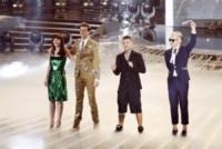 Fedez, Mika, Victoria Cabello, Morgan - Milano - 23-10-2014 - Mika rimpiazza la Ventura con le farfalle