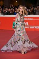 Nicoletta Romanoff - Roma - 24-10-2014 - Mini o longuette, ma pieno di fiori: è l'abito della primavera!