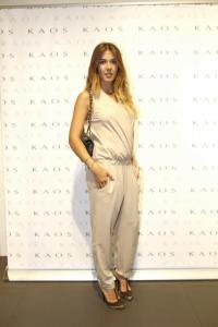 Martina Pinto - Milano - 25-10-2014 - La tuta glam-chic conquista le celebrity