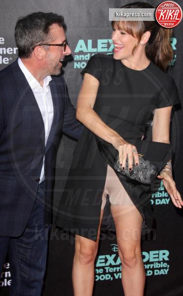 Steve Carell, Jennifer Garner - Hollywood - 07-10-2014 - Il wardrobe malfunction colpisce ancora