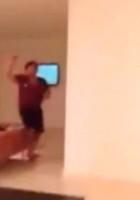 Rocio Oliva, Maradona - Buenos Aires - 29-10-2014 - Autogol di Maradona che aggredisce a schiaffi l'ex compagna