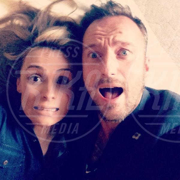 Wilma Helena Faissol, Francesco Facchinetti - Milano - 29-10-2014 - Dani Alves sposo in segreto, ma quante star come lui!
