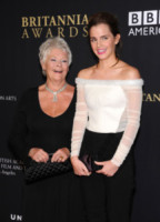 Dame Judi Dench, Emma Watson - Beverly Hills - 30-10-2014 - Emma Watson ruba la scena a tutti ai BAFTA Awards 2014