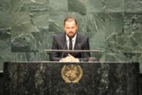 Leonardo DiCaprio - New York - 22-09-2014 - Kelly Rohrbach: un'altra bionda per Leonardo DiCaprio