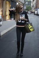 Aida Yespica - Milano - 06-11-2014 - Le celebrity ne vanno matte: è la Celine Luggage Tote Bag!
