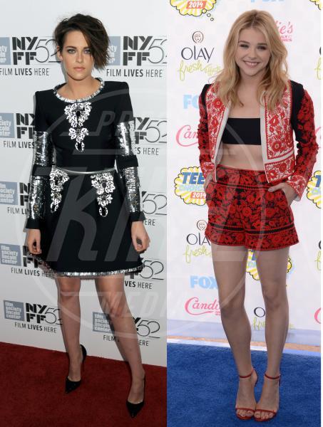 Chloe Grace Moretz, Kristen Stewart - 07-11-2014 - Kristen Stewart e Chloe Grace Moretz, bellezze a confronto