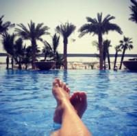 Camila Raznovich - Milano - 08-11-2014 - A piedi nudi da te: le star mostrano i loro piedini