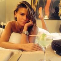 Claudia Galanti - Milano - 08-11-2014 - A piedi nudi da te: le star mostrano i loro piedini