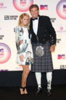 Hayley Roberts, David Hasselhoff - Glasgow - 09-11-2014 - David Hasselhoff sposo in Italia con la sua Hayley