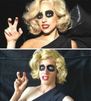Liam Martin, Lady Gaga - Hollywood - 10-11-2014 - Liam Martin: l'imitatore delle trash-star fa boom sul web